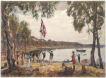 26-01-1788 - South Victory Day - Les 1er colons britaniques posent le pieds en Australie