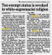 1991-11-09 Morning Star - COTC Tax Exemption Revoked