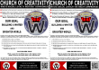Join the Church A4 Flyer x2