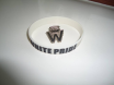 White Emblem Badge, White Pride