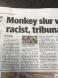 Not monkey