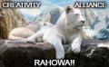 Creativity Alliance White Lion