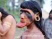 Plate Lip Brazil Tribe