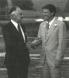 Ben Klassen with Rev. Will Williams