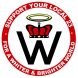 Creator Logo Supporter (Small) - Red Ring - Transparent BG
