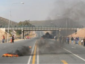 "De Doorns/Hex River ""Service Delivery Protest"""