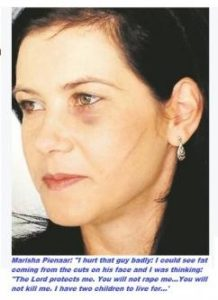 Narisha Pienaar Fights Two Black Home Invaders