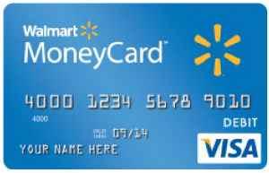 Get a Walmart pre-Paid Visa