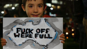 Australia's White Kids Say the Darndest Things: Fuck Off We're Full!