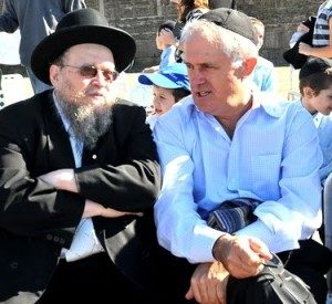 Australia's New Prime Minister Malcolm Turnbull More Jew Than Any Hebe