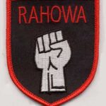 RAHOWA Fist Patch @ Tightrope