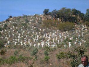 Plaasmoorde (farm murders) Monument