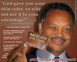 Black? Indigenous? Asian? Middle Eastern? Jewish? This is the Card for You!