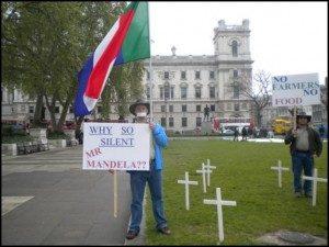 Stop Boer Genocide Protest – UK