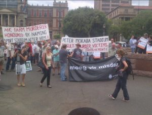 AfriForum Marches Against Farm Attacks